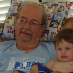 Wordless Wednesday – Chillin' With Pop Pop