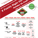 Family Night Out Event at Mia's Pizza & Eats with Cumming Local!