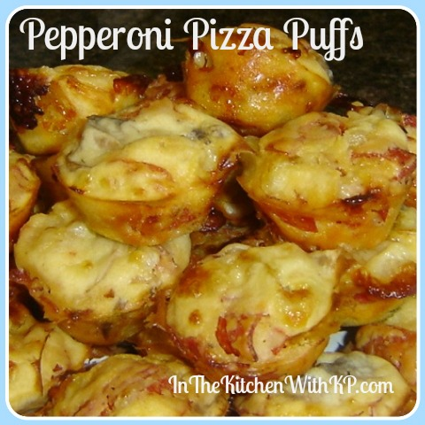 Pepperoni Pizza Puffs 1