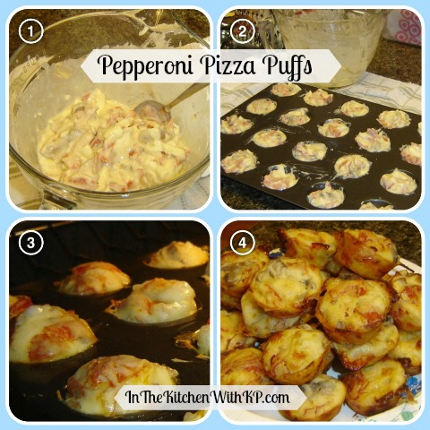 Pepperoni Pizza Puffs 2
