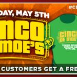 Moe's Southwest Grill Celebrates Cinco de Moe's on May 5 #CincodeMoes