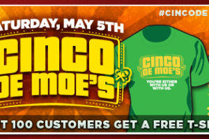 Moe's Southwest Grill Celebrates Cinco de Moe's on May 5 #CincodeMoes