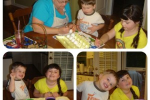 Mommy and Me Monday – Brightly Colored Easter Eggs