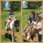First Pony Ride – Wordless Wednesday