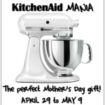 Enter Kitchen Aid Mania to Get Your Own Artisan Stand Mixer