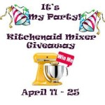 Give Away Madness KitchenAid Mixer Event – Blogger Opportunity