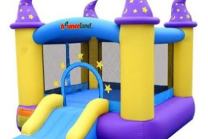 Jump & Join! We're Going to Give Away a Wizard Castle Bounce House {Blogger Opportunity}