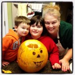 Angry Birds Pumpkin Carving – Mommy and Me Monday
