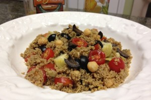 Mediterranean Couscous Salad – #SundaySupper to Celebrate Heritage