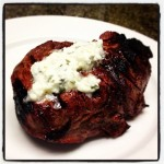 Steak With Blue Cheese Butter- Simple and Fresh Summer Recipes for #SundaySupper