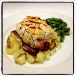 Chicken Involtini With Prosciutto, Provolone and Basil #SundaySupper