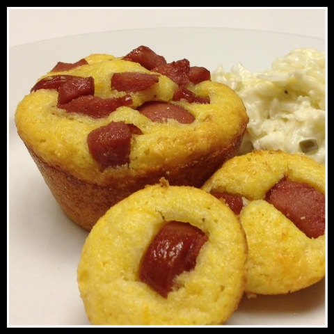 In The Kitchen With KP Muffin Tin Mini Corn Dogs - Kids in the Kitchen ...
