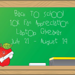 Celebrate and Send Your Kids Back to School With a New Laptop {G!ve Away}