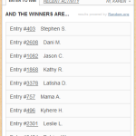 Congratulations to the #DibsOnMyRibs Contest Winners!