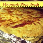 Easy Homemade Pizza Dough – Dad Starts From Scratch