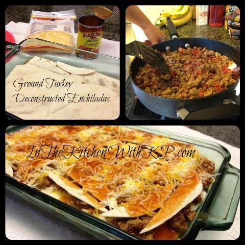 Ground Turkey Deconstructed Enchiladas 1