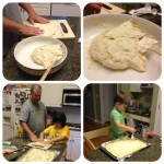 Homemade pizza dough 2
