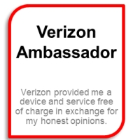 New Smart Phone In The Kitchen – I'm a Verizon Ambassador #VZWA