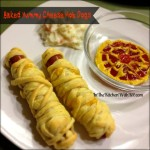 Baked Mummy Cheese Hot Dogs For Halloween #SundaySupper