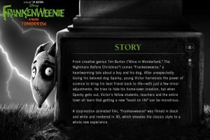 Pizza Mummy Meal Time – Inspired by Frankenweenie, Opens October 5th
