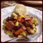 Soul Warming Hearty Beef Stew #SundaySupper