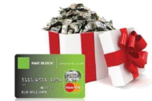 W!n $300 MasterCard Gift Card From H&R Block's Emerald Advance #HRBlockLoan