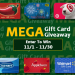 MEGA Gift Card G!ve Away! Six Chances to Score!