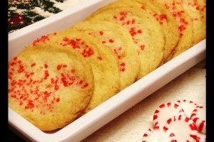 Peppermint Sugar Cookies #SundaySupper Cookie Exchange