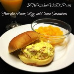Budget Friendly Breakfast – Freezable Bacon, Egg, and Cheese Sandwiches #SundaySupper