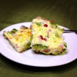 Ham Broccoli Cheese Egg Bake 1