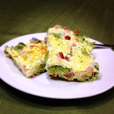 ... KP Savory Ham, Cheese, Broccoli and Egg Bake - In The Kitchen With KP