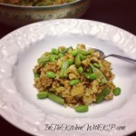 Italian Chicken Fried Brown Rice #SauteExpress #WeekdaySupper