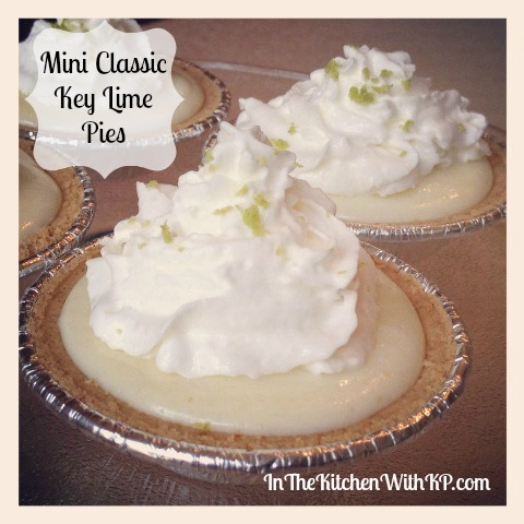 Mini Classic Key Lime Pies 1