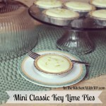 Mini Classic Key Lime Pies #SundaySupper #BucketList