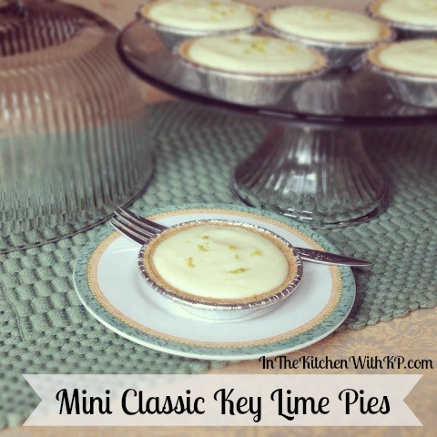Mini Classic Key Lime Pies 2