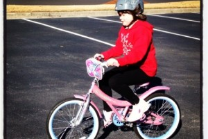 Look, Mom! No Training Wheels Wordless Wednesday