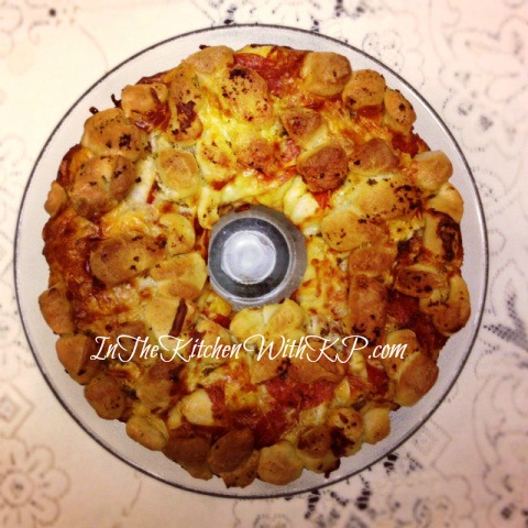Pepperoni Cheese Monkey Bread 1