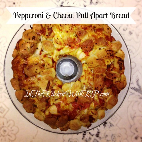 Pepperoni Pull Apart Bread Recipe | In The Kitchen With KP | Snack Appetizer Recipe