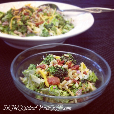Sweet and Smoky Broccoli Salad