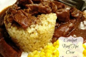 Easy Crockpot Beef Tips & Meal Planning With @eMeals