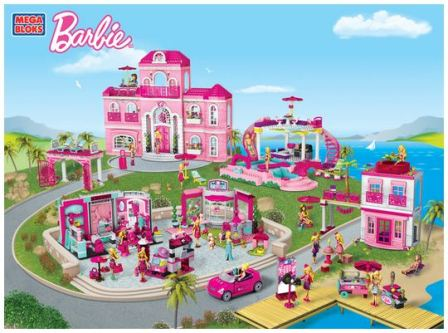 Mega Bloks Barbie Party 4
