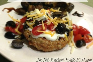 Turkey and Black Bean Taco Burgers Skinny #SundaySupper