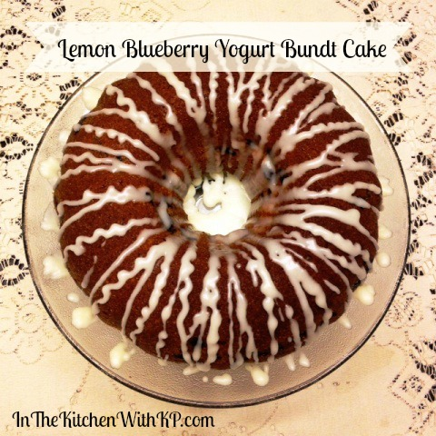 Lemon Blueberry Yogurt Bundt Cake