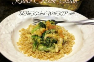 Ranch Chicken Divan New Twist on a Classic #Recipe with @eMeals