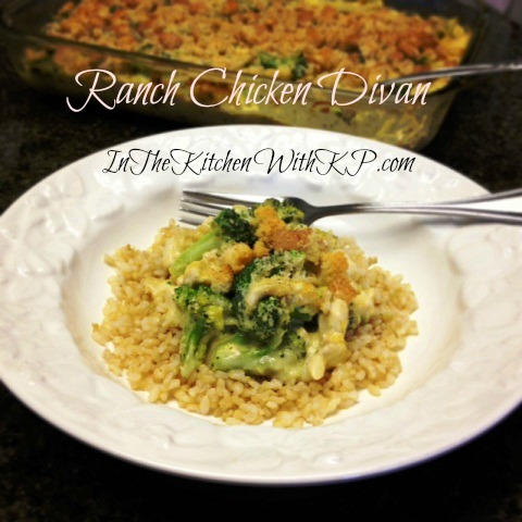 Ranch Chicken Divan Inspired by eMeals 1
