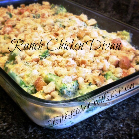 Ranch Chicken Divan Inspired by eMeals 2