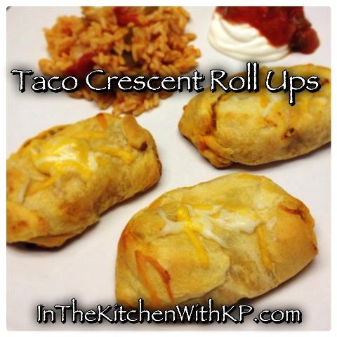 Taco Crescent Roll Ups 2
