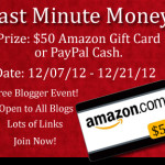 Join The Last Minute Money Event {Blogger Opportunity}
