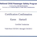 Certified Child Passenger Safety Technician