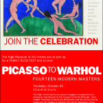 Picasso To Warhol – Fourteen Modern Masters at The High